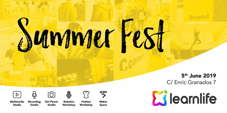 Summer fest poster