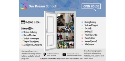 Open House @ Barcelona Learning Innovation Center on 3rd October 2018!